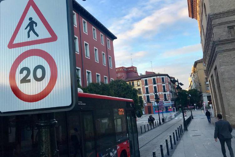 """El gobierno PP-Cs y Vox suspende el plan 'cota cero' de «humanización"""" de las calles de Zaragoza"""