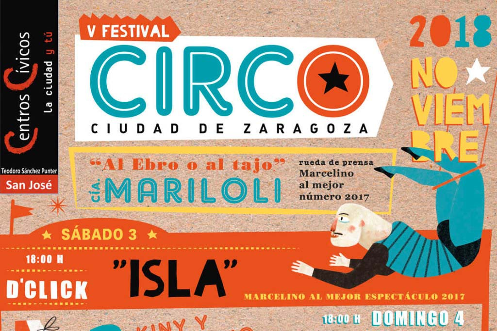 La V Edición del Festival de Circo vuelve este fin de semana a San José