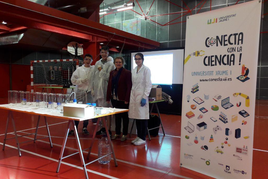 """La octava edición de """"Conecta con la Ciencia"""" reúne a 300 alumnos y alumnas en Teruel"""