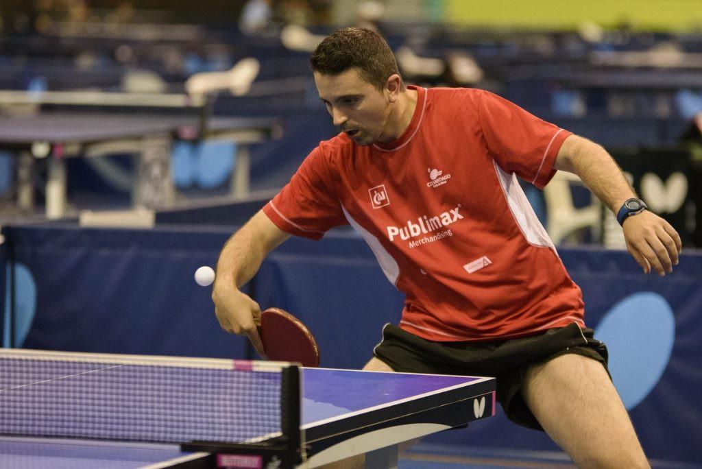 Jorge Cardona, al Campeonato del Mundo de Eslovenia de tenis de mesa