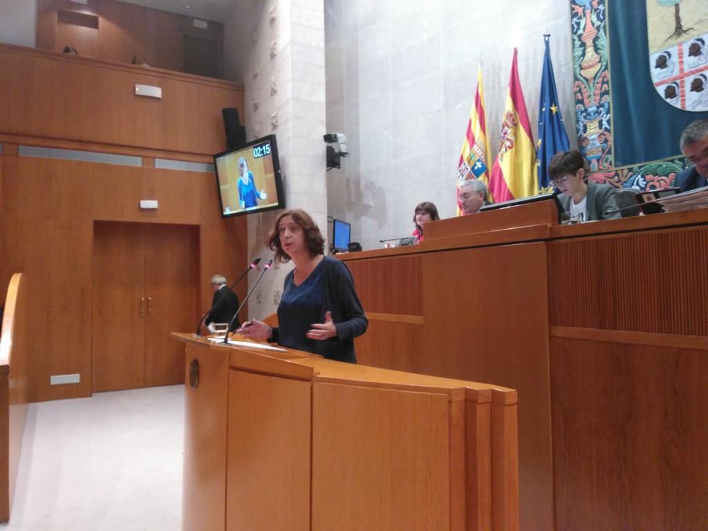 Empleo, vivienda, derecho a morir dignamente y laicismo, materias de las propuestas de IU aprobadas en el Debate sobre el estado de Aragón