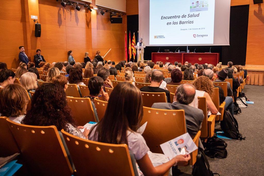 Tres distritos de Zaragoza participan ya en la iniciativa Salud en red en los barrios