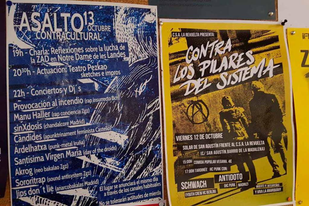 El Asalto Contracultural llega este sábado con charlas, conciertos y DJ's