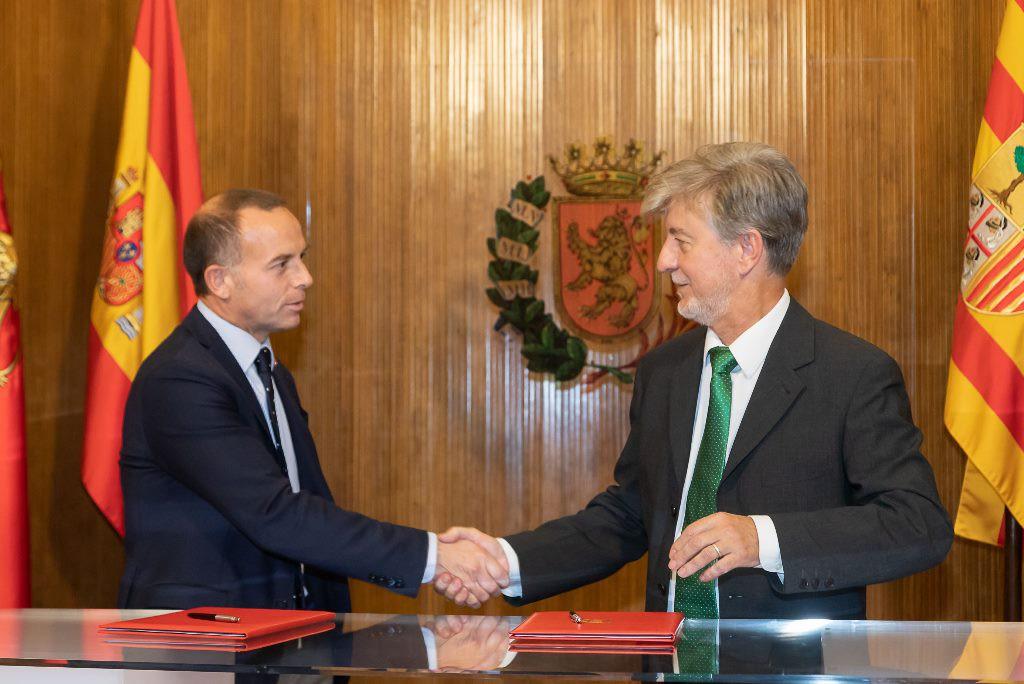 El Ayuntamiento llega a un acuerdo con el Real Zaragoza Sociedad Anónima Deportiva