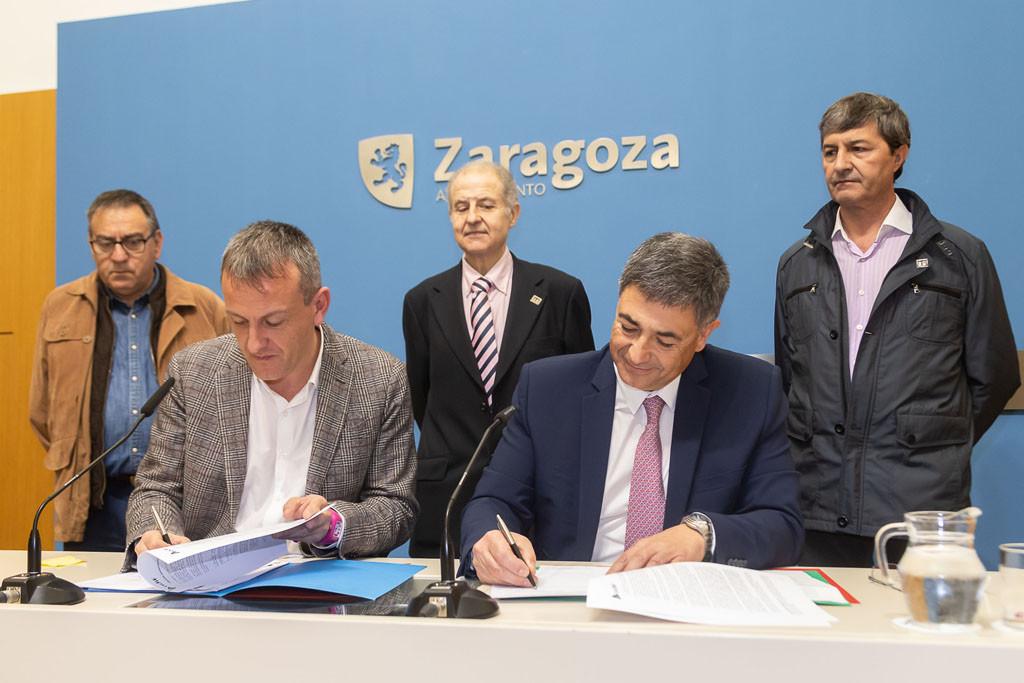 Adif y el Ayuntamiento de Zaragoza promueven la creación de un museo del ferrocarril en Casetas