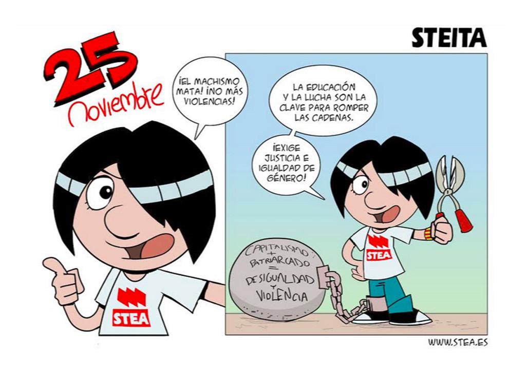 25N: la violencia contra las mujeres no cesa