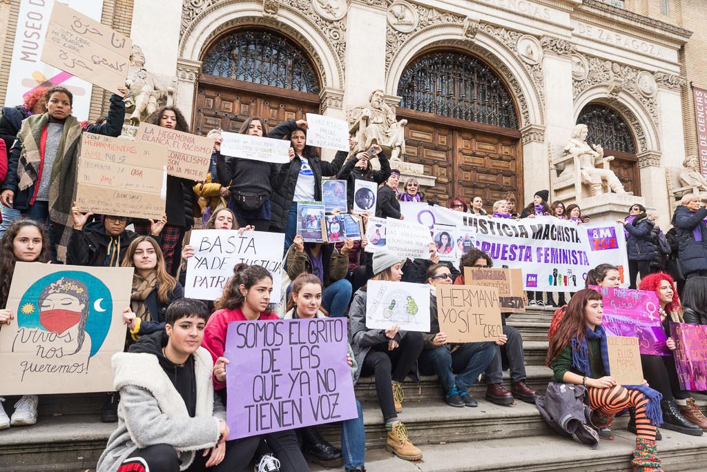 Aragón clama contra las violencias machistas y el patriarcado