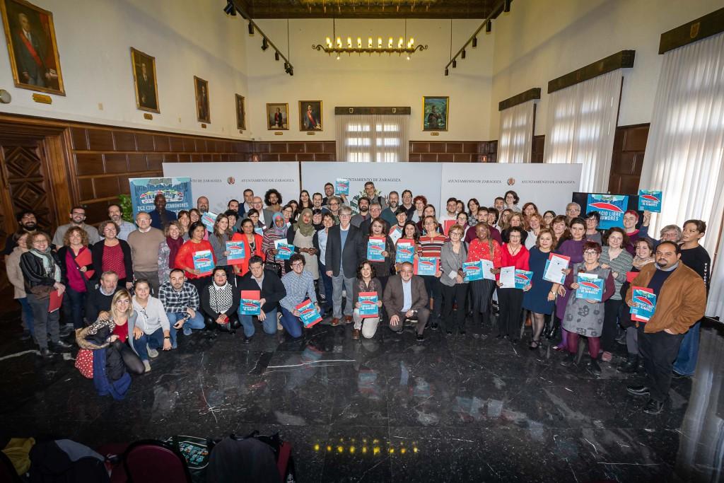 Más de medio centenar de entidades conforman una Alianza antirrumores para frenar el racismo y la xenofobia en Zaragoza