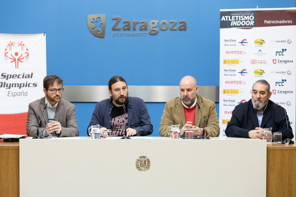 Zaragoza acoge el Campeonato Estatal de Atletismo Indoor para personas con diversidad intelectual