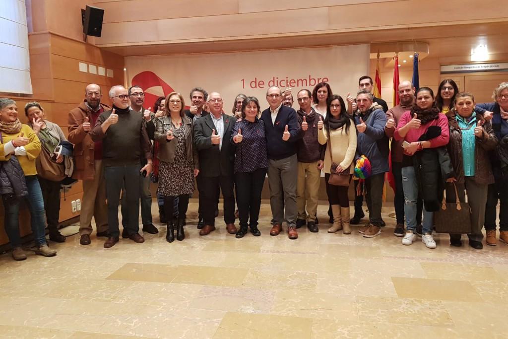 Zaragoza trabaja en la prevención de las personas más jóvenes para evitar el contagio VIH