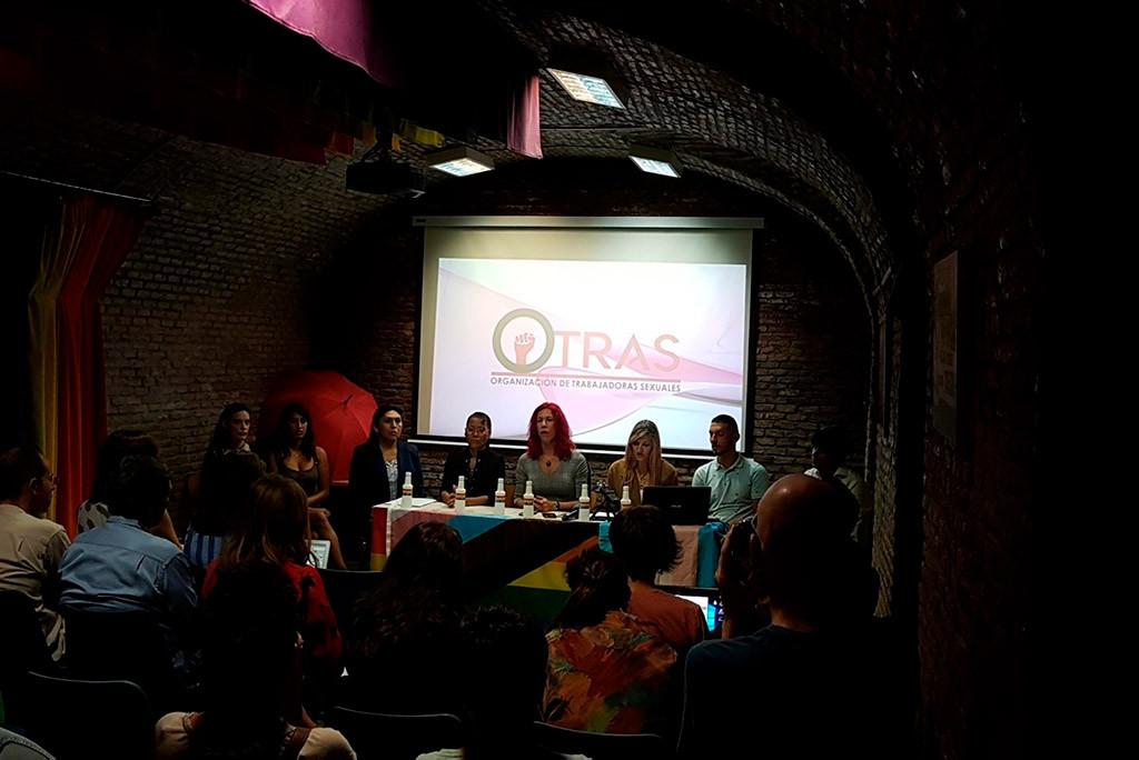 El sindicato OTRAS y las 300 personas que apoyan el derecho a organizarse contra la explotación