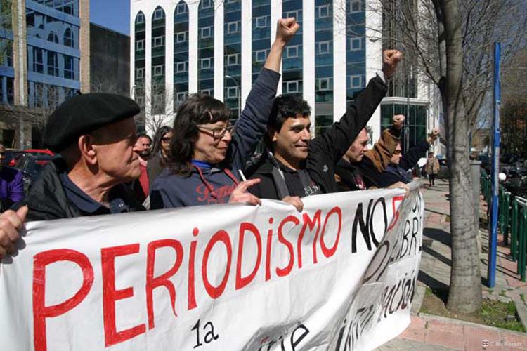 Boro LH absuelto del delito de atentado a la autoridad y lesiones en la cobertura de las Marchas de la Dignidad
