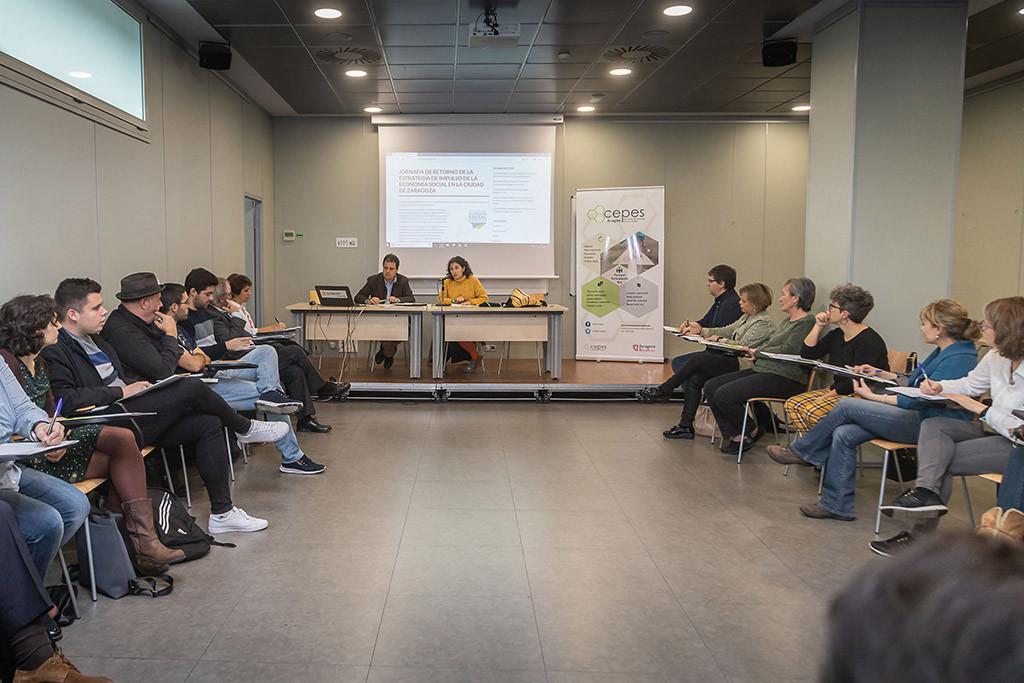 Se cierra el proceso de elaboración colectiva de la Estrategia para impulsar en Zaragoza la Economía Social y Solidaria en los próximos años