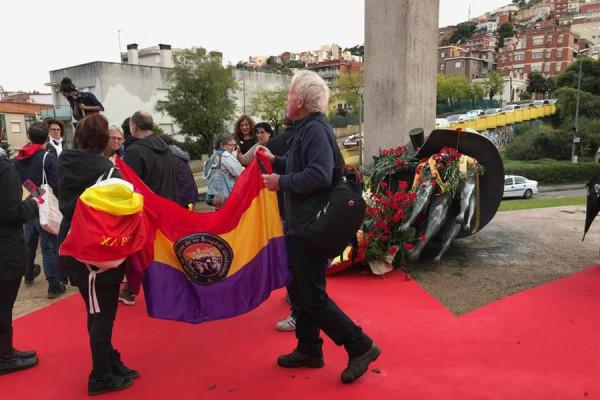 Acto de homenaje en Barcelona. Foto: @haizearenzizua