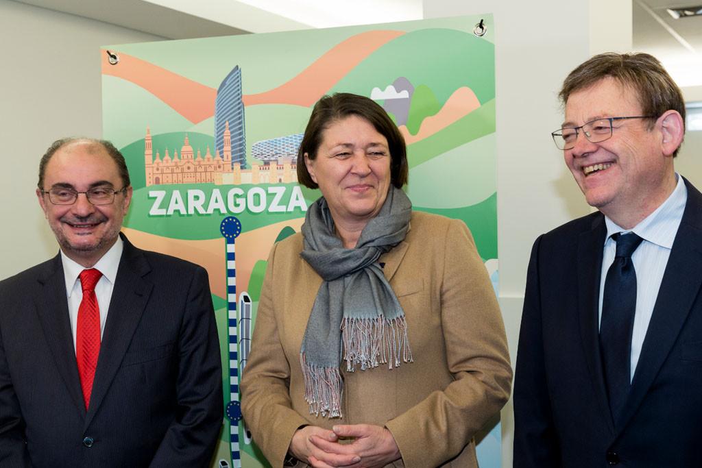 El Parlamento Europeo da el visto bueno a la inclusión del tramo Sagunt-Teruel-Zaragoza en el Corredor Mediterráneo