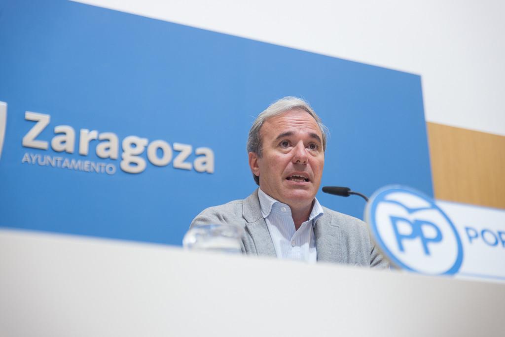 La oposición en bloque carga contra el discurso de Pedro Santisteve
