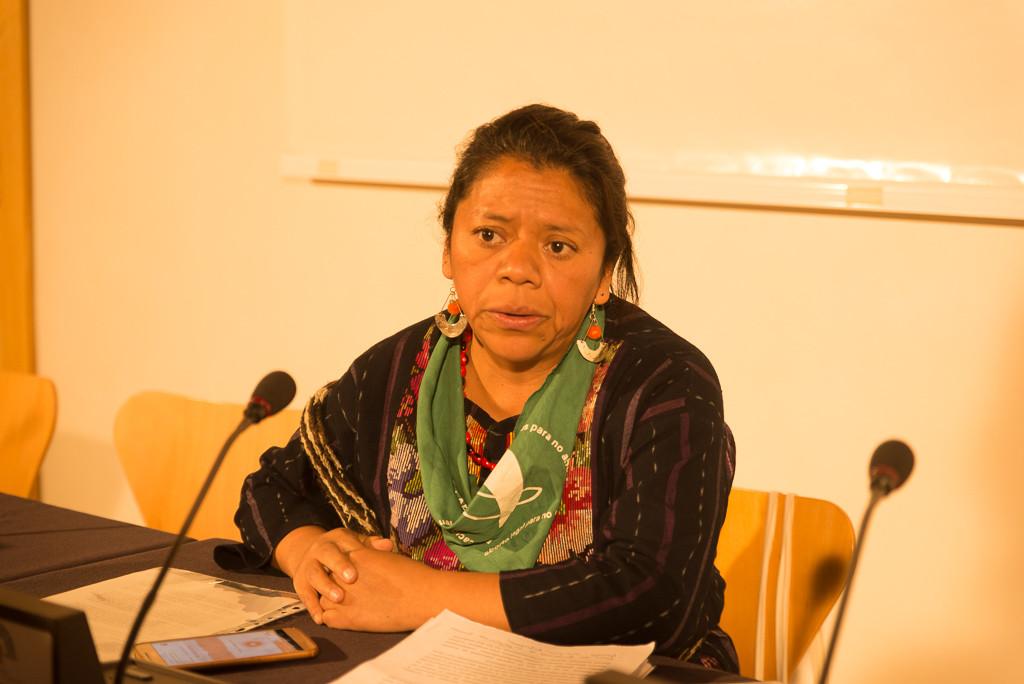 """Lolita Chávez: """"En Guatemala se han encarcelado a lesbianas y a personas trans por el simple hecho de ser, no les permiten ni ser"""""""