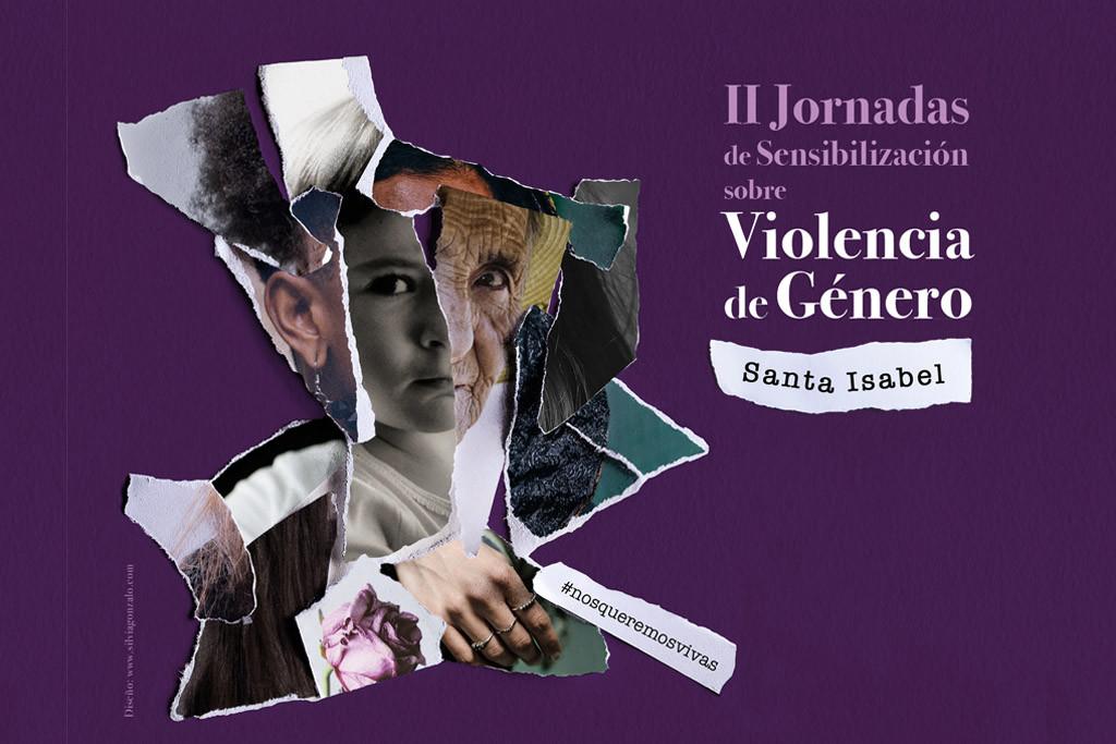 Santa Isabel celebra la segunda edición de las 'Jornadas de Sensibilización sobre Violencia de Género'