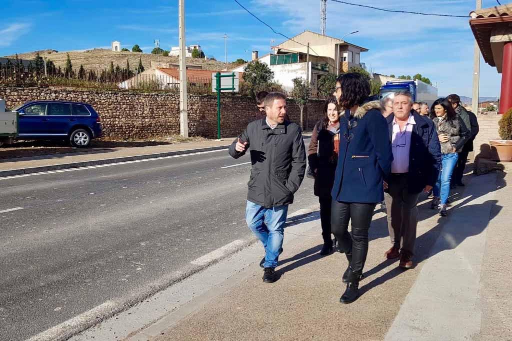 Finalizan las obras de acondicionamiento de la travesía de Fuent de Xalón