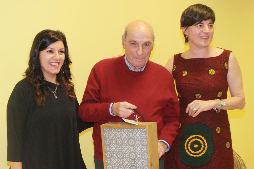 José Luis Batalla primer premiado por FAS a la Trayectoria Solidaria
