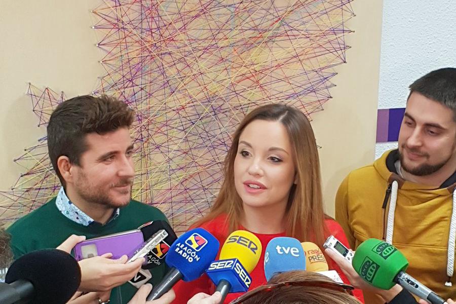 Maru Díaz será la candidata de Podemos a la presidencia del Gobierno de Aragón
