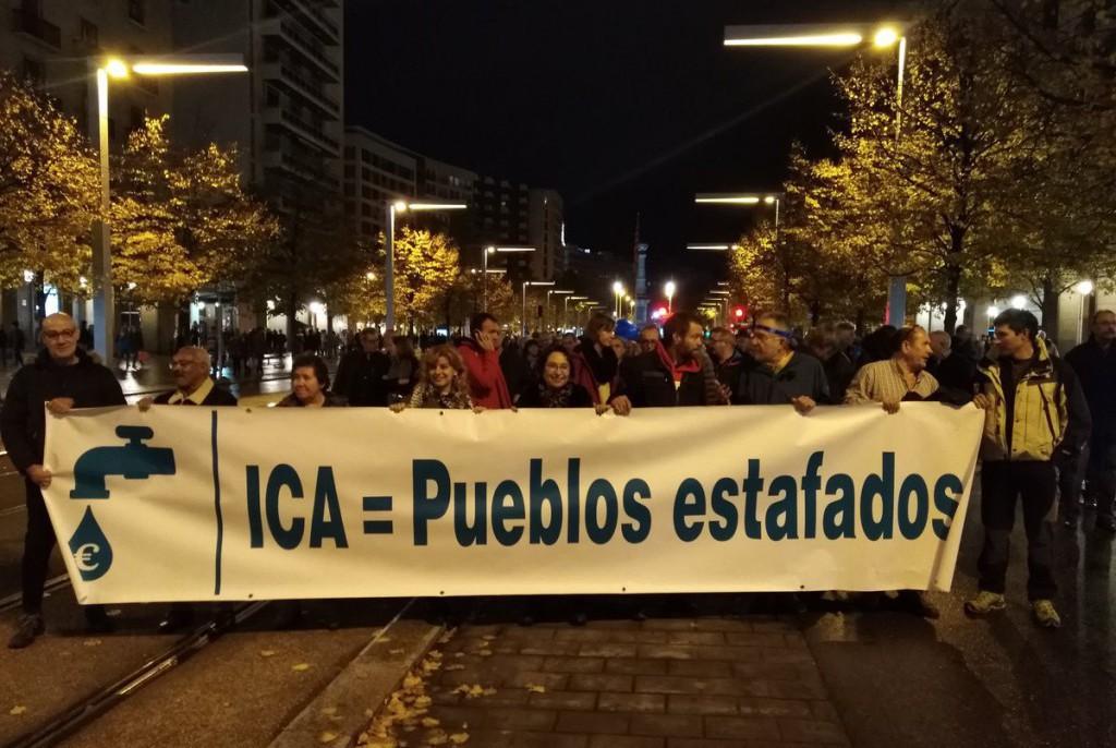 La gestión del agua en Aragón y el ICA: partidos políticos y coaliciones se posicionan antes del 26M
