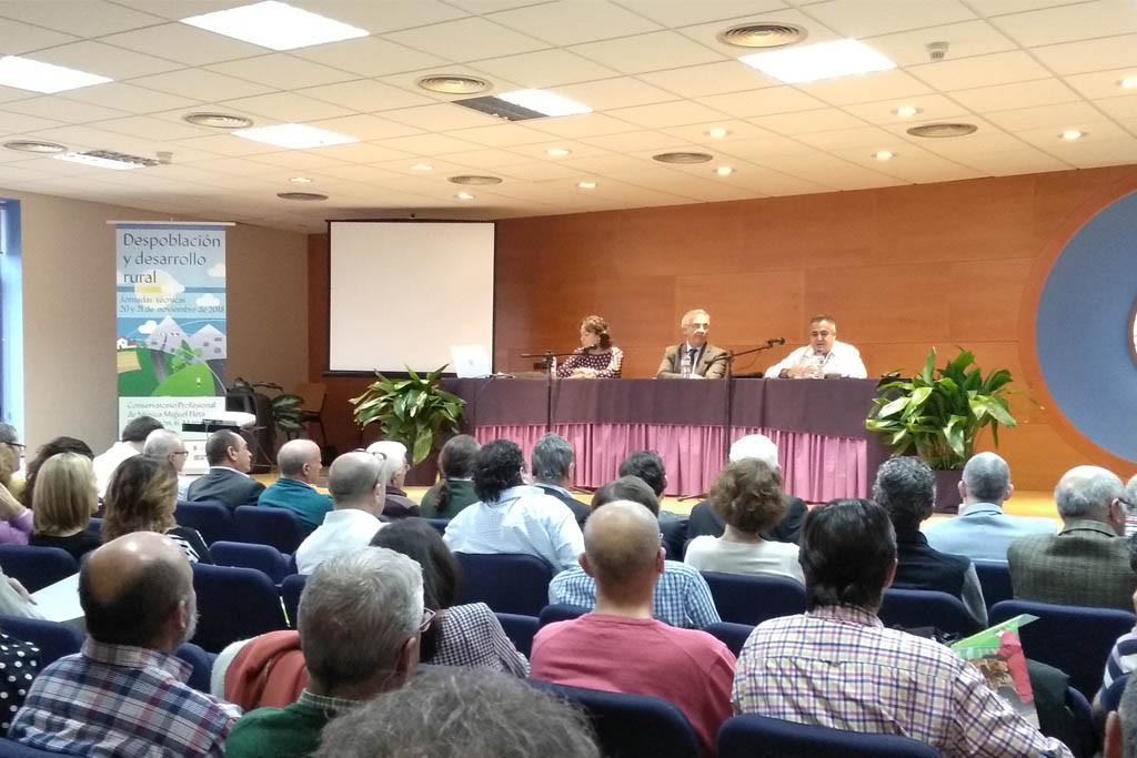 Los Grupos Leader reivindican en Monzón su papel en el medio rural durante los últimos 25 años