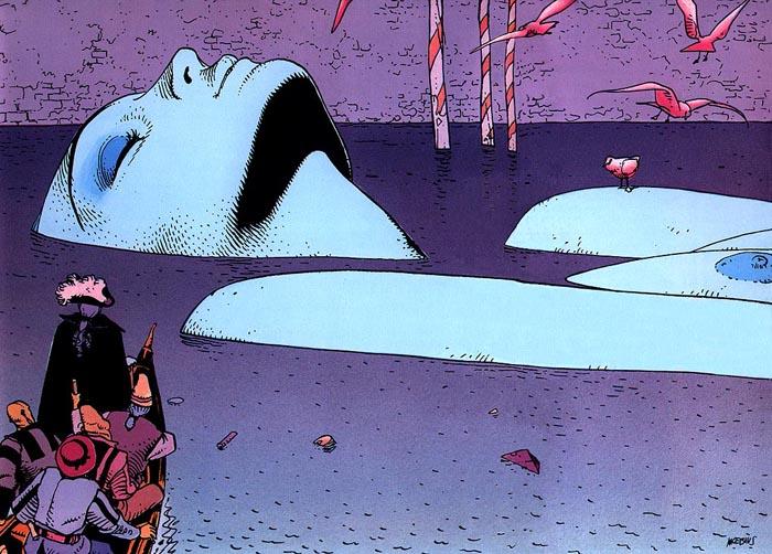 Ilustración de Moebius.