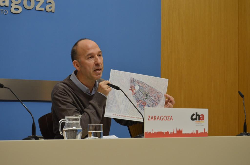Carmelo Asensio rechaza el proyecto de Presupuestos del Estado y solicita la mejora en las partidas destinadas a Zaragoza y Aragón