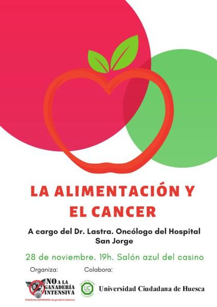 cartel_Alimentación y cáncer