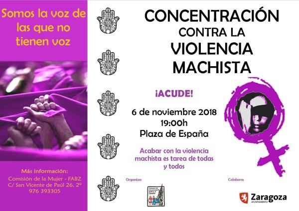concentración violencias machistas