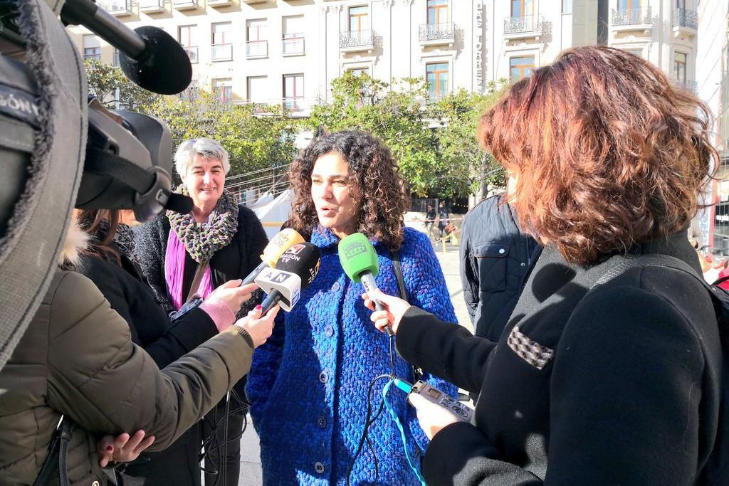"""Erika Sanz afirma que Podemos Aragón debe recoger el mensaje de """"unidad y pluralidad"""" que han lanzado las personas inscritas para ganar las elecciones"""