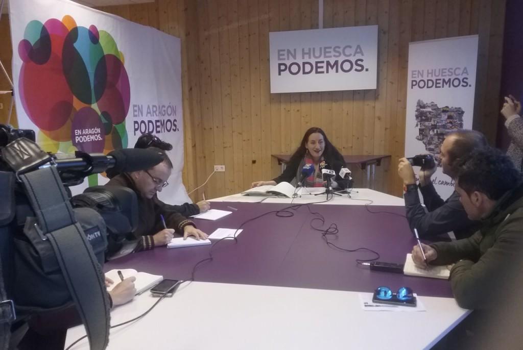 """Podemos denuncia la """"alarmante"""" situación de 34 municipios de Aragón por la """"falta de calidad"""" de agua de boca"""