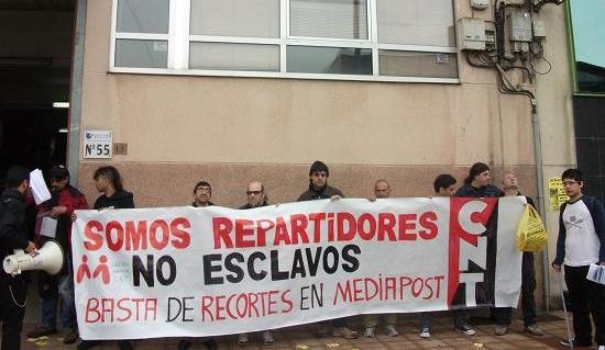 """CNT exige """"transparencia"""" en las negociaciones en Mediapost"""