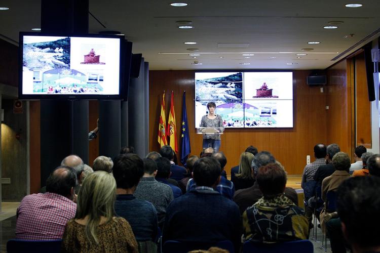 Violeta Barba. Foto: Cortes de Aragón.