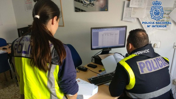 La Policía requisa ordenadores y móviles en las sedes de Europa Press Baleares y Diario de Mallorca