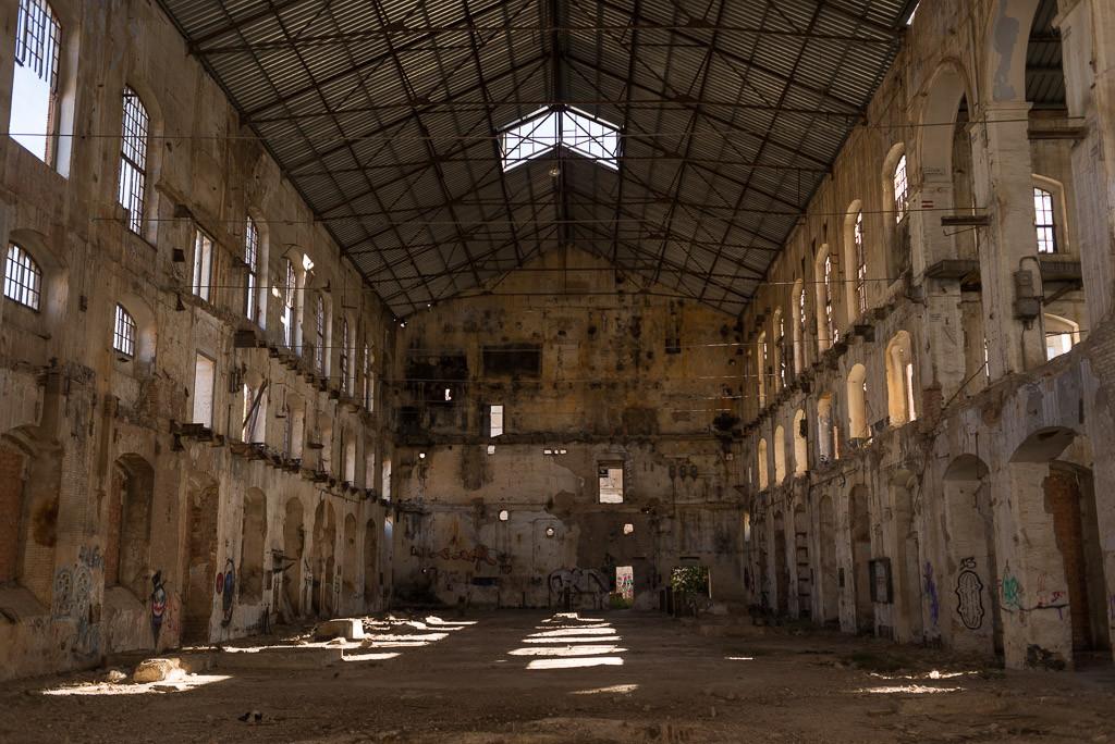 Las ruinas de la revolución industrial en Aragón: las azucareras