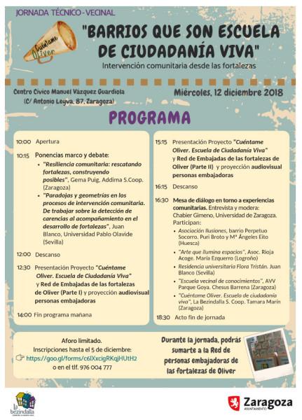 Bezindalla Oliver Jornada 12D programa