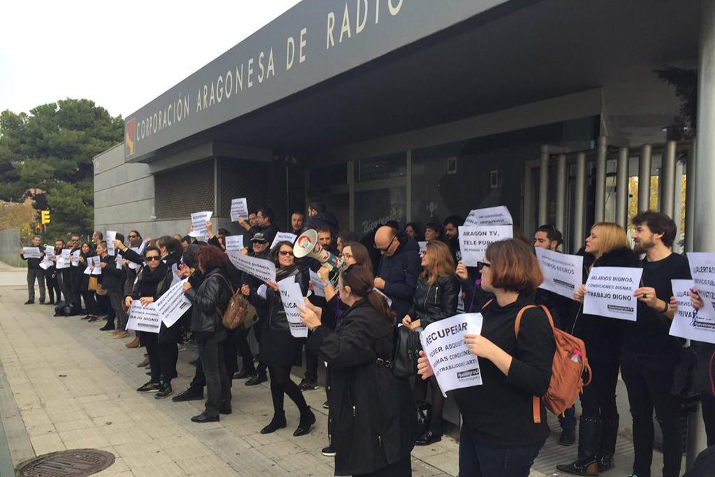 6 de diciembre: otro jueves negro para la plantilla de los informativos de Aragón TV