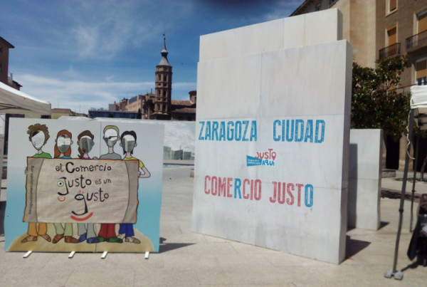 La FAS organiza la 4ª Ruta del Comercio Justo en Zaragoza dentro de la campaña 'Justo en Navidad 2018'