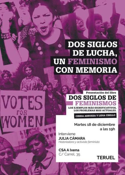 Dos siglos de lucha, un feminismo con memoria