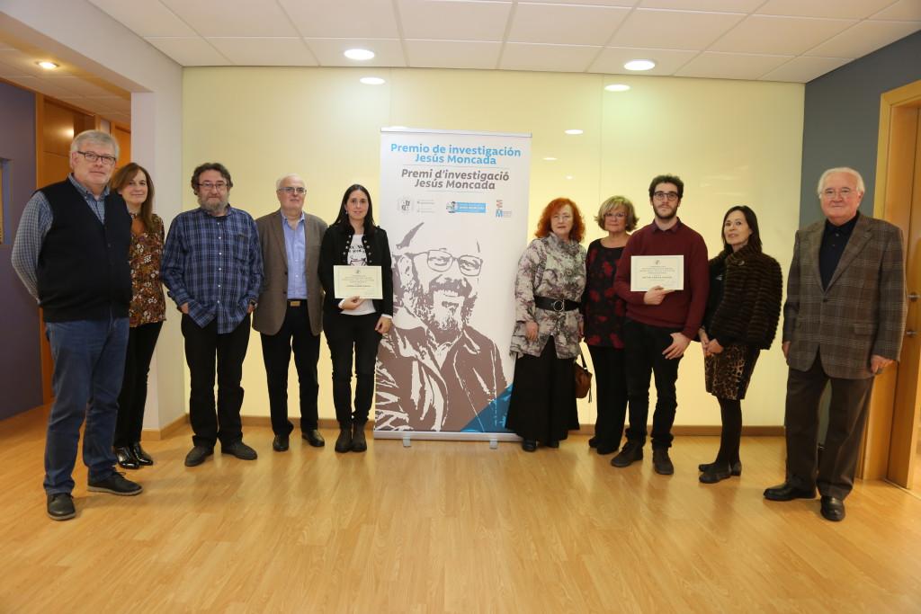 Entregado el I Premio de Investigación Jesús Moncada