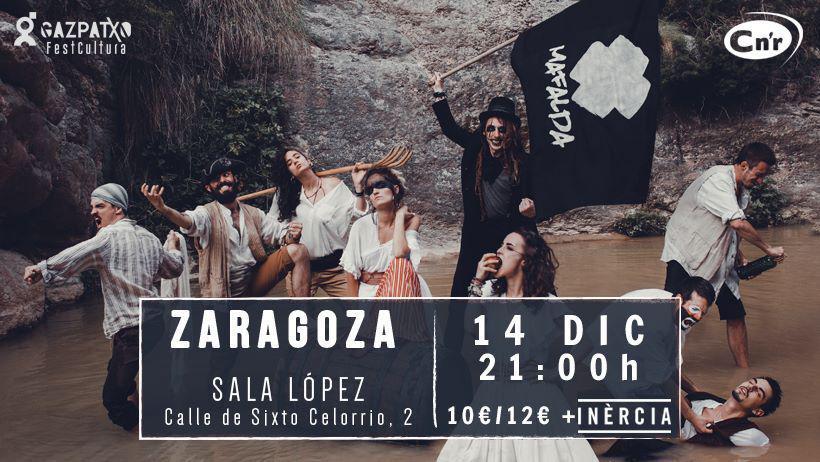 ¿Quiéres ir al concierto de Mafalda en Zaragoza?