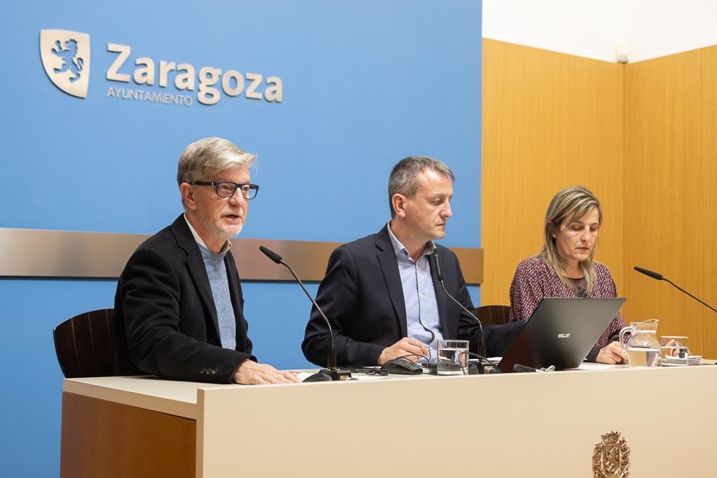 El Gobierno de Zaragoza presenta el borrador de Presupuesto de 2019 con 18,7 millones más para reforzar los derechos sociales y la inversión pública