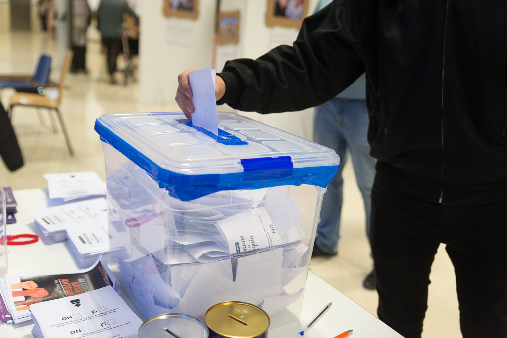 Referendum unizar_foto- Pablo Ibáñez