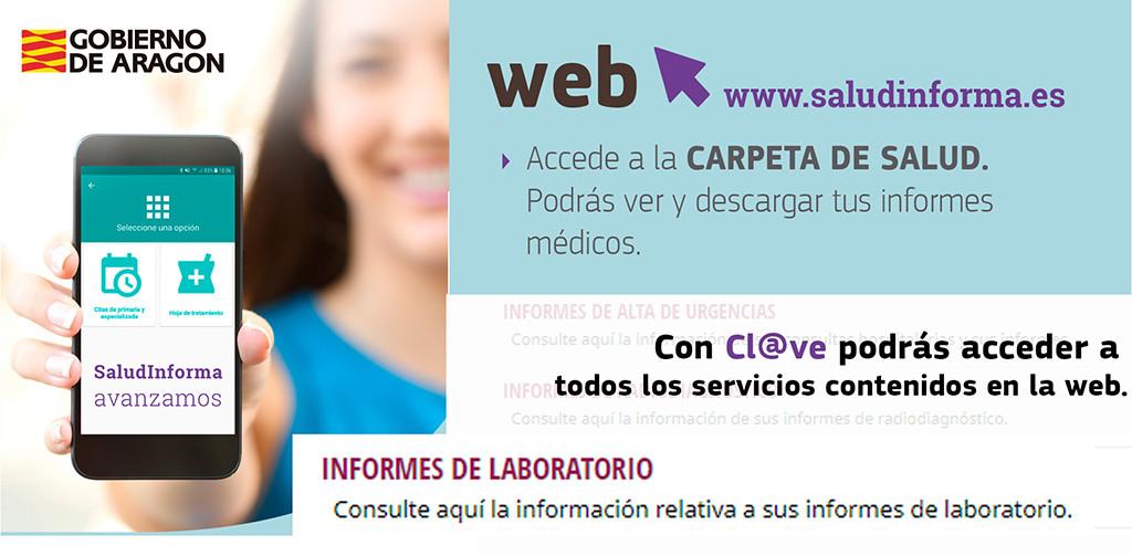 Salud Informa incorpora los resultados de análisis a la Carpeta de Salud