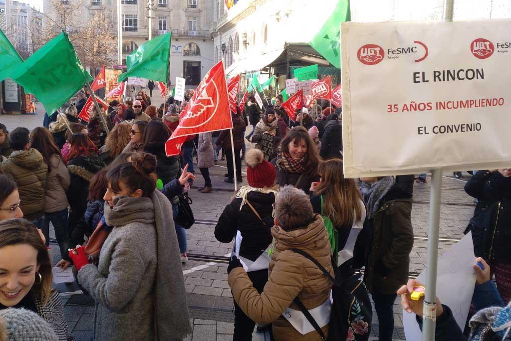 Las trabajadoras de Frutos Secos el Rincón comienzan el año con huelga