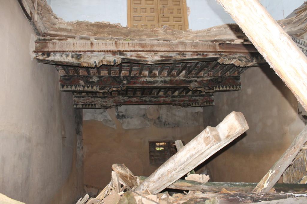 """Apudepa denuncia la situación de """"ruina"""" en la que se encuentra el palacio de Villa Antonia de Calatayú"""