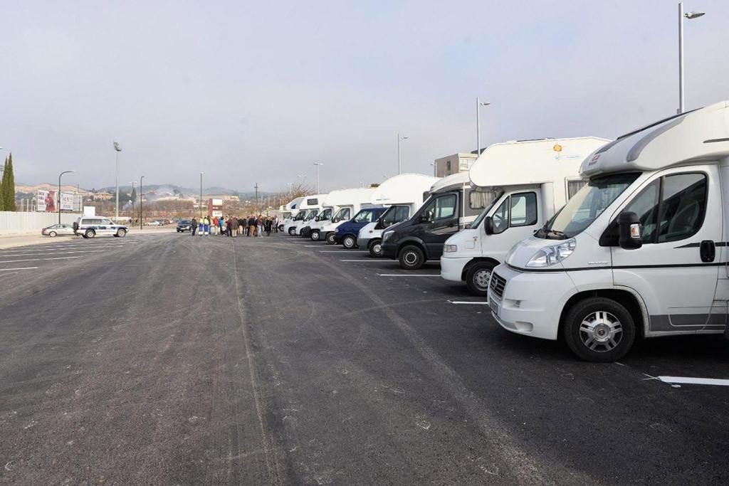 Zaragoza contará con un aparcamiento para autocaravanas