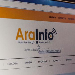 AraInfo se consolida como el segundo medio digital más leído en Aragón